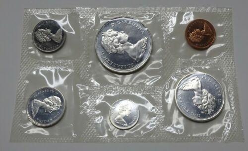 1966 Canada Silver 6-Coin Proof-Like Set - Original Envelope & COA