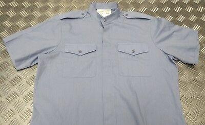 WRAF Shirt Working Dress Blue Long Sleeve Genuine British RAF NEW