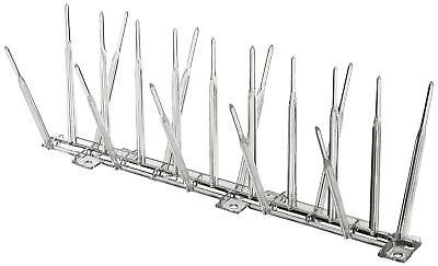 Bird B Gone Plastic Bird Spikes - 20 ft L x 5 in W - Clear