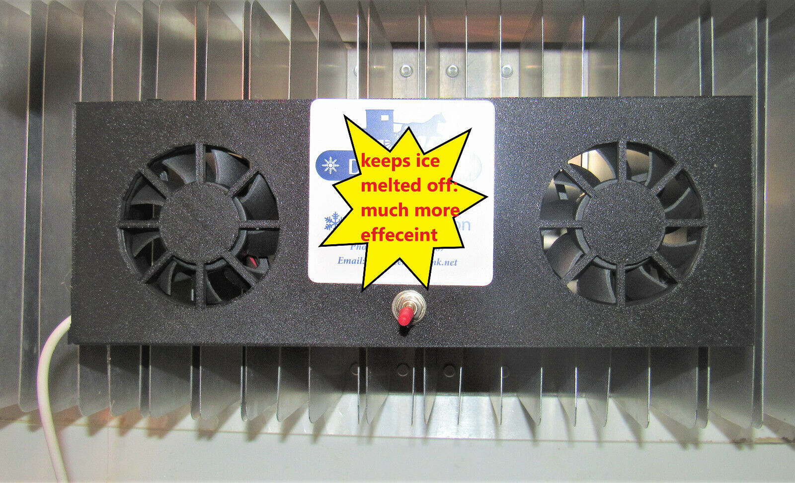 Dometic and Norcold Frost Free Fin Fan