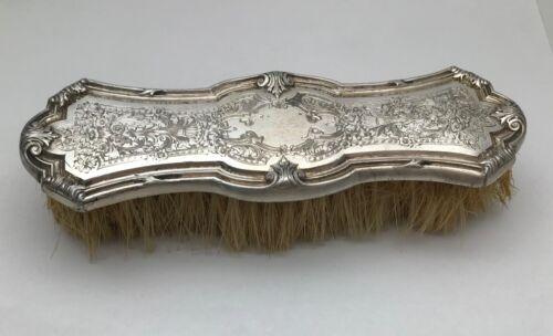 Antique Art Nouveau Sterling Silver Vanity clothes Brush