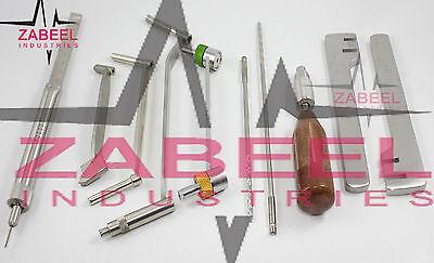 Orthopaedic Veterinary Surgical Medical 10 Pcs Set Instrument Zabeel Industries