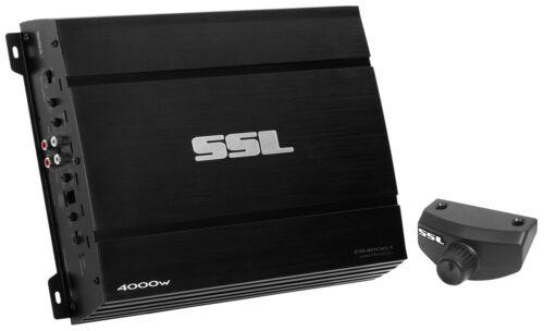 Ssl Force Fr4000.1 Car Amplifier - 3000 W Rms - 4000 W Pmpo