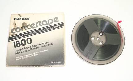 Radio Shack Concertape 1800ft Pre-Recorded Reel to Reel Tape