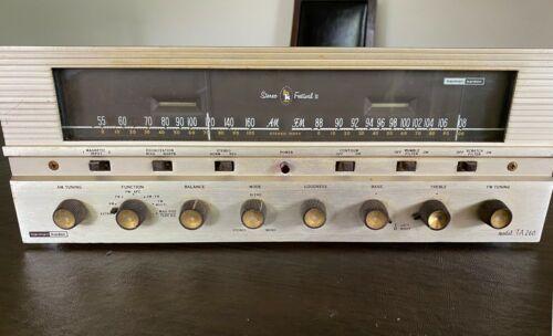 Harman Kardon TA 260 Festival II Stereo Tube Amp Receiver