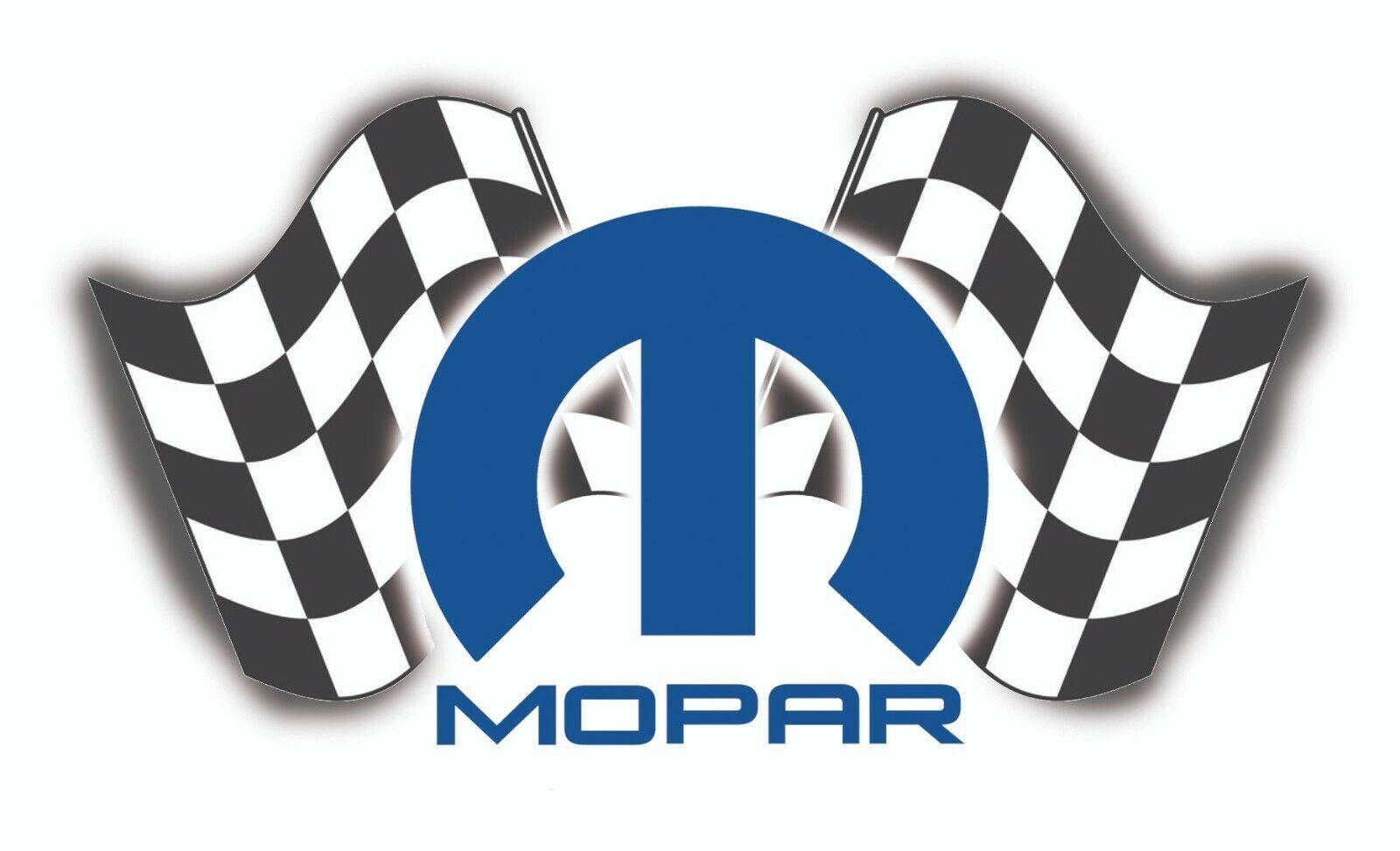 MOPAR STICKER DECAL CHECK FLAG TOOL CHEST GARAGE MECHANIC GL