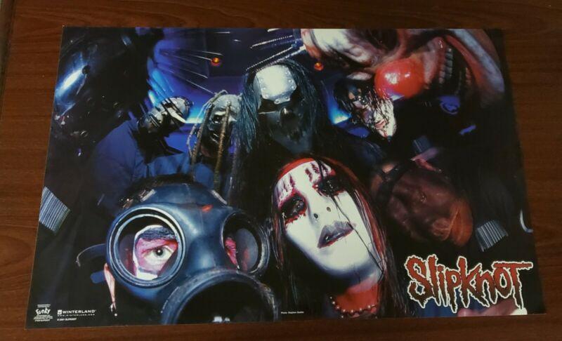 VINTAGE POSTER :MUSIC: SLIPKNOT - GROUP POSE #7593   Slipknot Poster