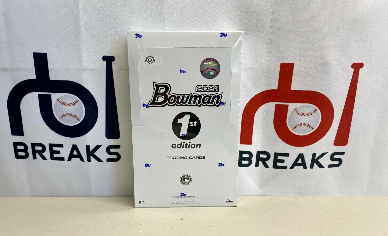 Chicago White Sox 2021 Bowman First 1st Edition Sealed Single Box Break B - $17.50