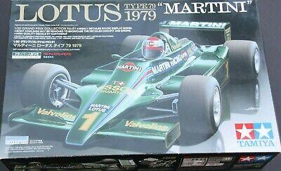 TAMIYA 1:20 Lotus Typ 79 Martini 1979 Bausatz Mehrfarbig *NEU* *OVP*