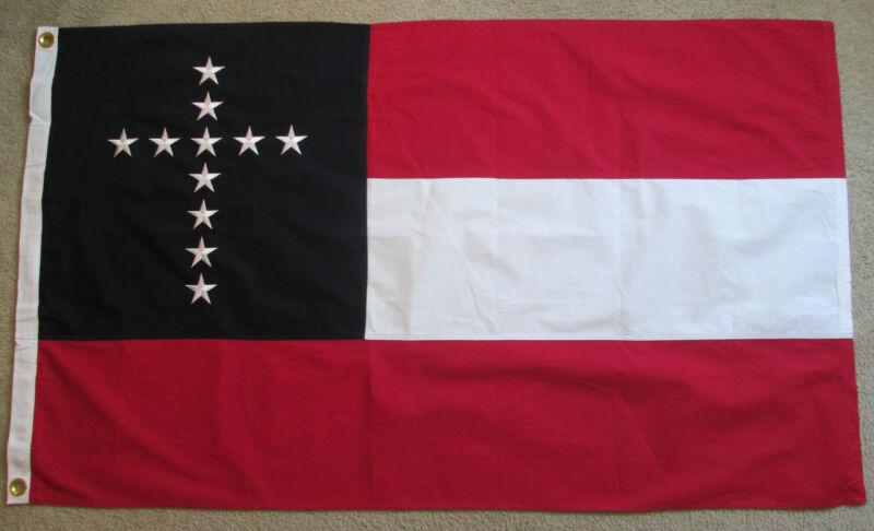 Civil War Flag, Southern Flag, Christian Stars and Bars Flag... 5th Kentucky