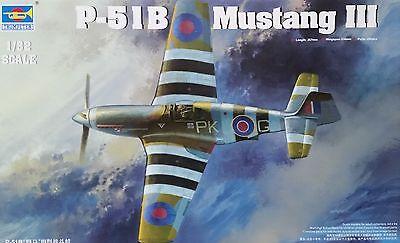 TRUMPETER® 02283 RAF Mustang III (P-51B/C) in 1:32