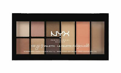 NYX PROFESSIONAL MAKEUP Go-to Palette, Wanderlust, 0.54 Ounc
