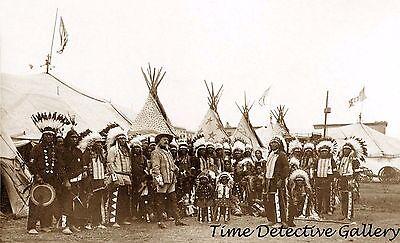 """Buffalo Bill's Wild West Show - 1890 - 6.5"""" x 11""""  Photo Print"""