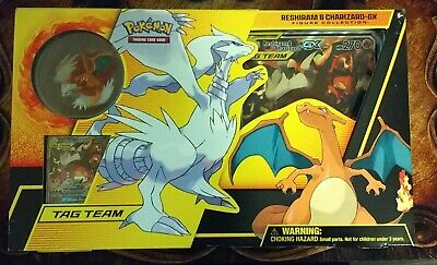 Reshiram & Charizard GX Box Figure Collection, Unbroken Bonds, Pokemon