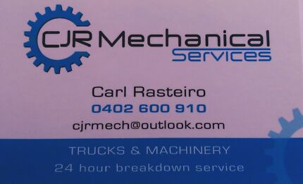 CJR Mechanical Services - Mobile Diesel Mechanic Byford Serpentine Area Preview