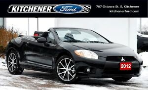 2012 Mitsubishi Eclipse Spyder GS CONVERTIBLE | ONLY 11,289 K...