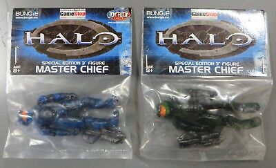 "Halo Special Edition 3"" Master Chief Blue and Green GameStop Exclusive figures  segunda mano  Embacar hacia Argentina"