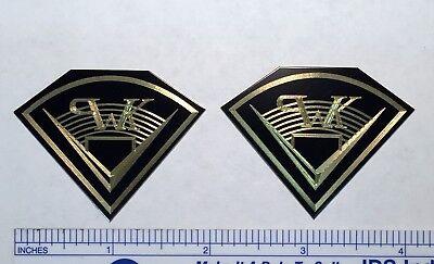 Engraved Solid  Klipsch Speaker Badge logo PWK Heresy Cornwall Chorus