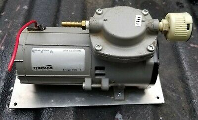Thomas Diaphragm Vacuumsuction Pump 107cdc20 12v ... Works Great