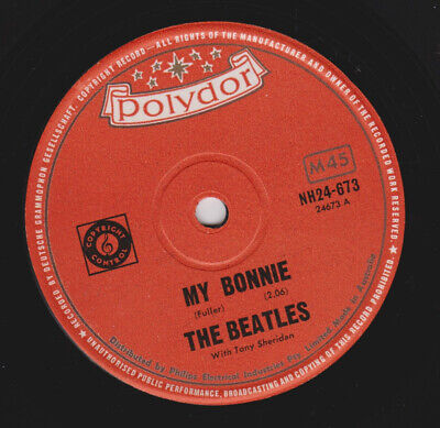 BEATLES 3 POLYDOR 45 My Bonnie AUSTRALIA CHILE NEW ZEALAND + purple parlophone