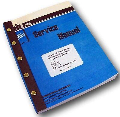International D Dt-360 Diesel Engine Service Repair Shop Manual Turbo Tractor