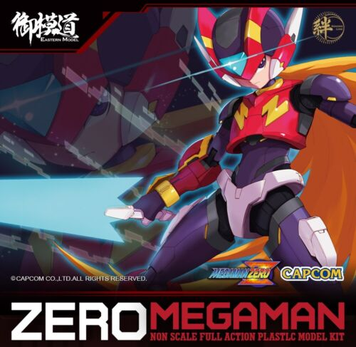 1/12 E-Model Rockman Zero Capcom Model kits, unassembled,with holographic card