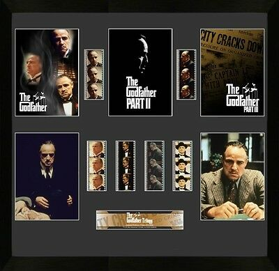 Film Cell Genuine 35mm Framed & Matted Godfather Mixed Montage USFC2809