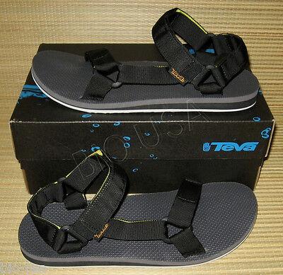 0bb54ea39d36 BRAND NEW Teva Original Universal Sandal Black Sport Sandals MENS 12