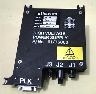 Alabcom High Voltage Power Supply Pn 0176000 Sn P056 Type Hv004 Date C 0914