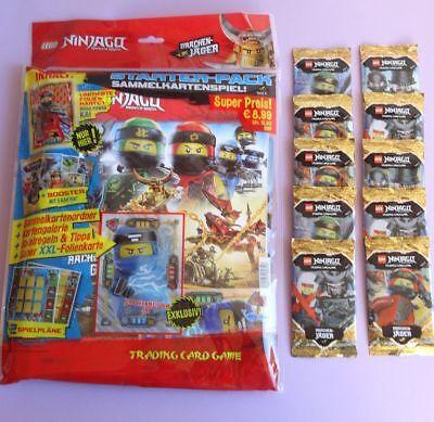 Starter Pack LEGO NINJAGO TCG, Sammelmappe + 10 Booster, Serie 4, NEU 2019