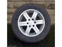 "18"" Genuine Mitsubishi L200 Warrior Alloy wheels tyres 6x139.7 Shogun Pajero"