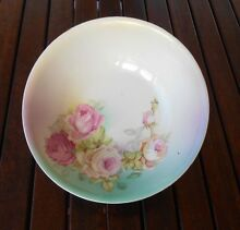 SERVING BOWL - ROSE PATTERN. New Farm Brisbane North East Preview