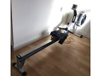 Concept 2 rower with PM4 and Suunto heart rate monitor