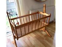 Seranade Wooden Swinging Cot Crib