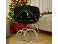 Silvercross twin coachbuilt dolls pram superb condition ***Ideal Christmas Gift****