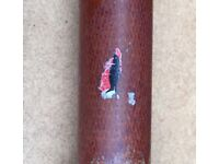 "Antique / Vintage 3 piece ""Royal Seal"" Mordex Fishing Rod 11'1"""