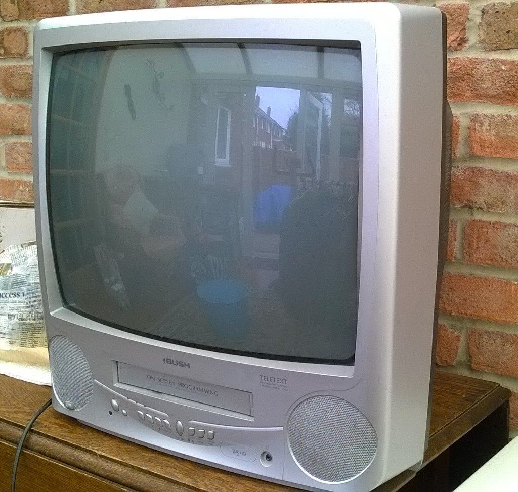 tv video combi. bush tv / video combi, in good condition tv combi i