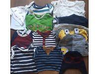 Baby boys 0-3 clothing bundle inc Jasper Conran, Jojo Mama Bebe,