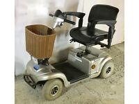 Medium size pavement mobility scooter - Mercury Monami full suspension
