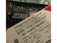Anthony Joshua v Carlos Takam Ticket x1