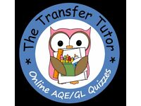 The Transfer Tutor Online Quizzes For AQE and GL Revision and Preparation