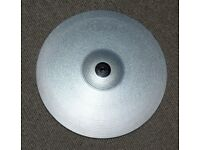 ROLAND V DRUMS CY-14C SV Electronic 2 zone crash Cymbal Pad V DRUMS SILVER 14 inch 2 available NICE
