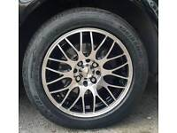 Calibre Motion Alloy wheels with new tyres