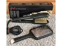GHD Hair Straighteners & GHD Paddle Brush
