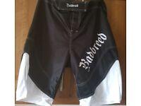 Badbreed MMA/Ju-jitsu Shorts XL..free P&P