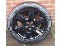 255/50 R19 107 Y 2007 Rangerover Sport L320 orginal spare wheel and tyre