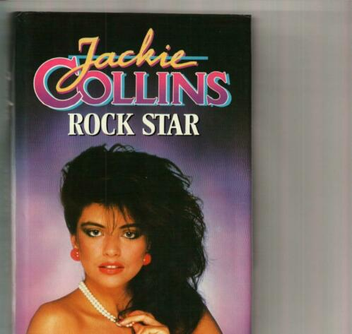 Rock star Jackie Collins/jul20