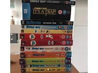 Family Guy Season 1-10 DVD, American Dad Season 1-3