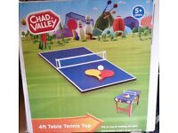 Chad Valley Table Tennis Top