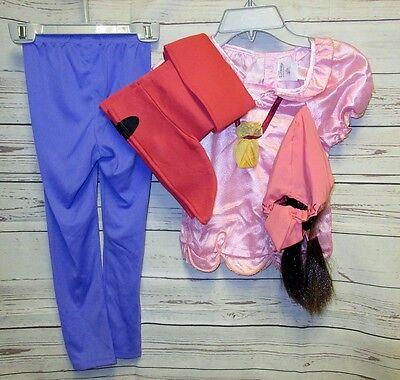 5 Pc Disney Store Izzy 4 Jake & the Neverland Pirates Halloween Costume Wig Boot ()